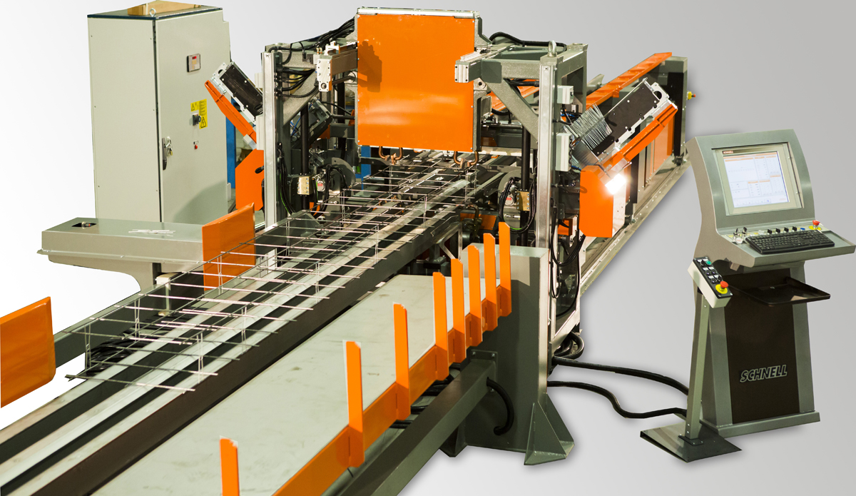 Welded Wire Mesh Production Plant MAG