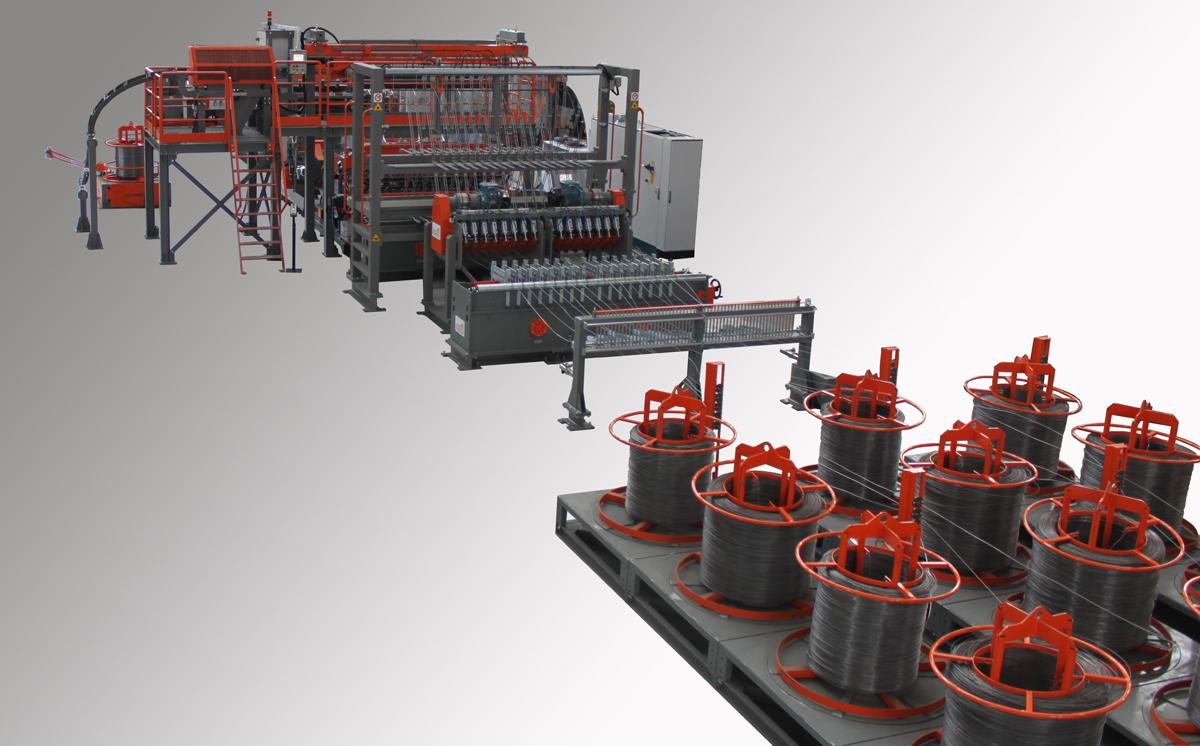 Meshwelding machine Mesh Line Coil-Coil